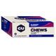 GU Energy Chews Box Blaubeere-Granatapfel 24 x 54g